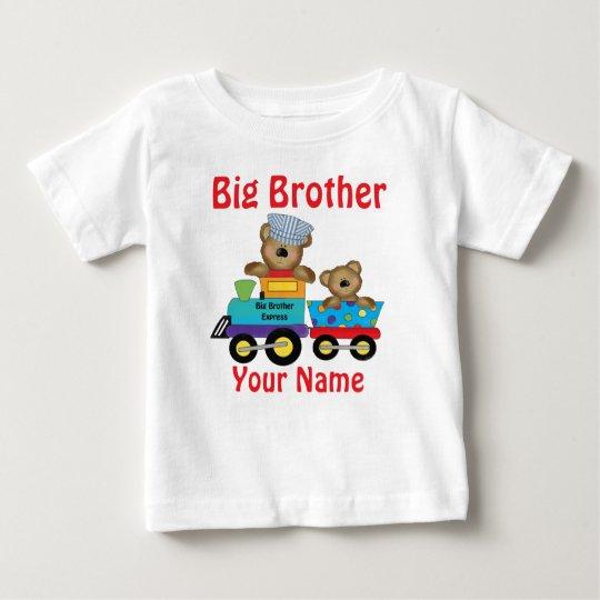 Big Brother Bear Train Personalised Shirt