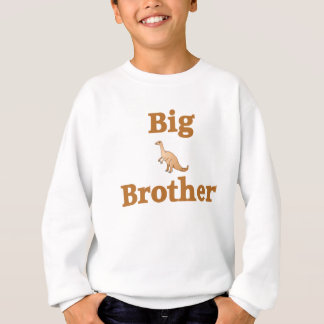 Big Brother Brown Dinosaur Sweatshirt