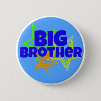 Big Brother (button) 6 Cm Round Badge