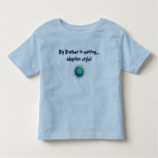 Big Brother by Adoption Toddler T-Shirt