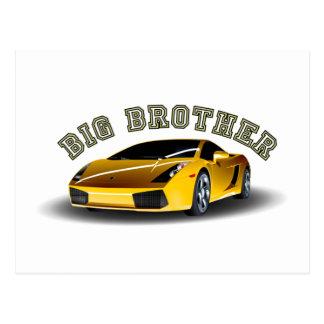 Big Brother Car Postcard