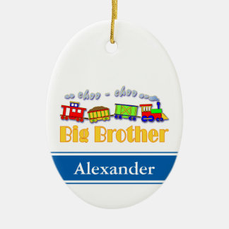 Big Brother Choo Choo Train Christmas Ornament