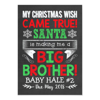 Big Brother Christmas Pregnancy Announcement