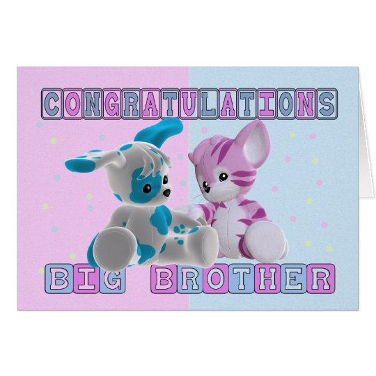 Big Brother Congratulations Card