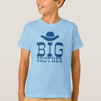 Big Brother Cowboy Hat Tshirts