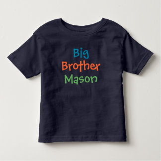 Big Brother Custom Name | Tee Shirt Design