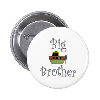 Big Brother Cute Boat 6 Cm Round Badge