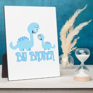 Big Brother Dinosaur Photo Plaque