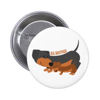 Big Brother (dogs) 6 Cm Round Badge