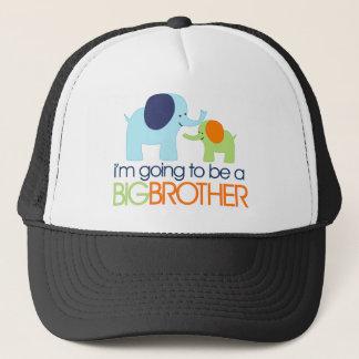 Big Brother Elephant T-shirt Trucker Hat