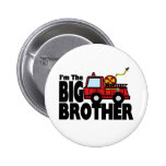 Big Brother Fire Truck Pin
