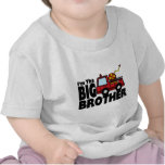 Big Brother Fire Truck T-shirt
