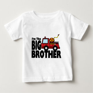 Big Brother Fire Truck Tees
