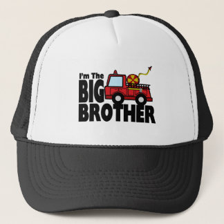 Big Brother Fire Truck Trucker Hat