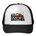 Big Brother Fire Truck Trucker Hat