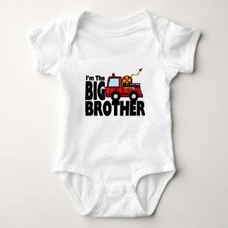 Big Brother Fire Truck T Shirts