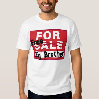 Big Brother For Sale Funny T-shirt
