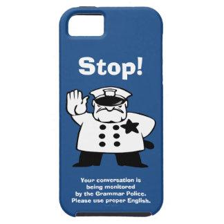 Big Brother Grammar Police iPhone 5 Cases