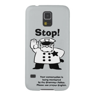 Big Brother Grammar Police Galaxy S5 Cases