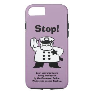 Big Brother Grammar Police iPhone 7 Case