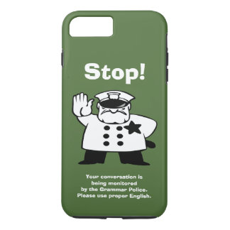 Big Brother Grammar Police iPhone 7 Plus Case