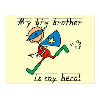 Big Brother Hero Tshirts and Gifts Postcards