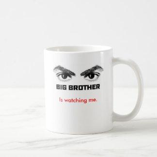 Big Brother is watching me. Basic White Mug
