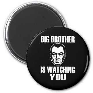 Big Brother is Watching You 6 Cm Round Magnet