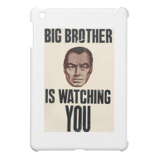 Big Brother Is Watching You iPad Mini Cases