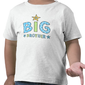 Big brother kids t-shirt with stars
