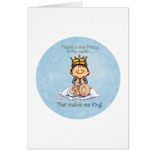 Big Brother - King of Prince Card