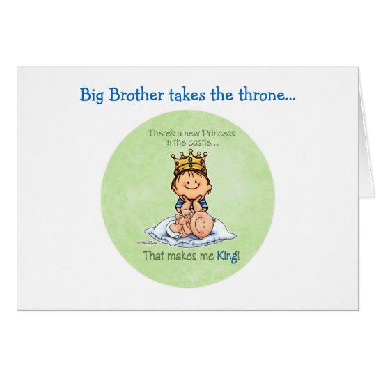 Big Brother - King of Princess Card