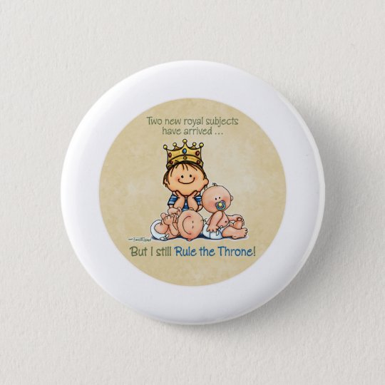 Big Brother - King of Royal Twins Products 6 Cm Round Badge
