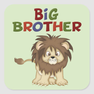 Big Brother Lion Sticker