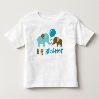 Big Brother - Mod Elephant Toddler T-Shirt