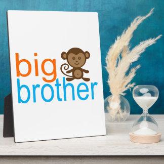 Big Brother Monkey Photo Plaques