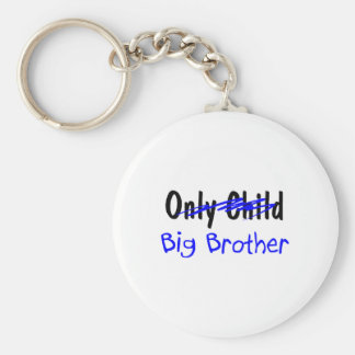 Big Brother No More Only Child Keychain