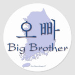 Big Brother (of a Girl) Korea Stickers