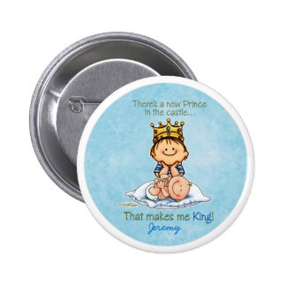 Big Brother of baby brother 6 Cm Round Badge