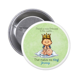 Big Brother of sister 6 Cm Round Badge