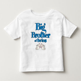 Big Brother of Twin Girls Toddler T-Shirt