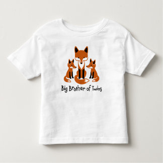 Big Brother of Twins - Mod Fox t-shirts for boys