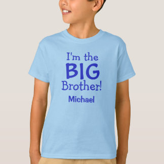 Big Brother Personalized Kids T-Shirt