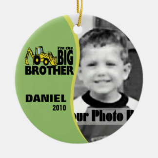 Big Brother Photo Christmas Ornament
