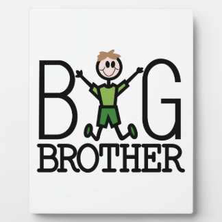 Big Brother Photo Plaques