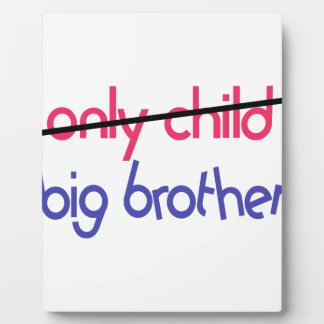 Big Brother Photo Plaque