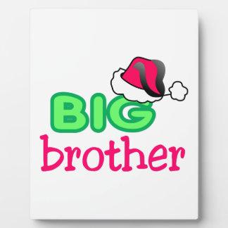 Big Brother Plaque