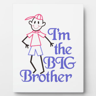 Big Brother Display Plaque