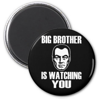 Big Brother Portrait Magnet
