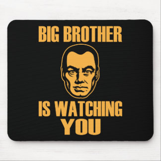 Big Brother Portrait Mousepad